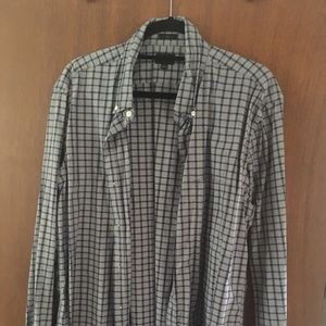 J crew men's long sleeve button down with pocket